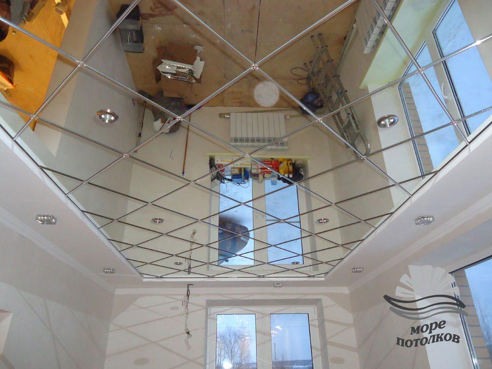 Как сделать зеркальную поверхность на стекле в домашних